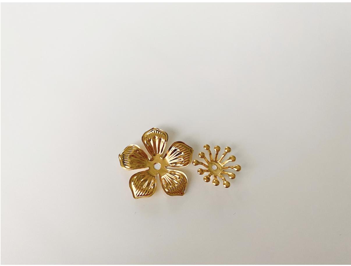 お花のリングのレシピ&作り方