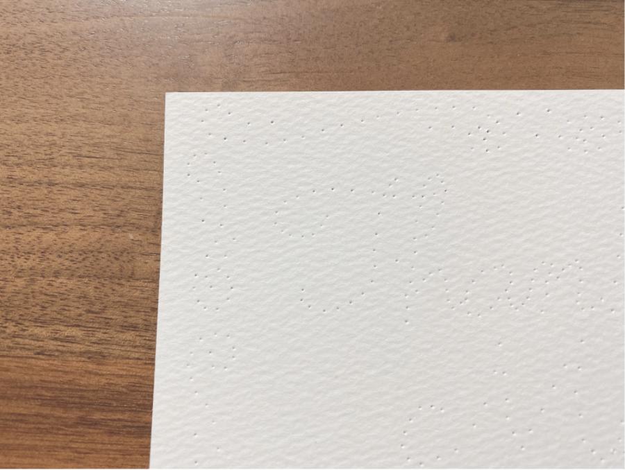 ハンドメイド紙刺繍をするための下準備