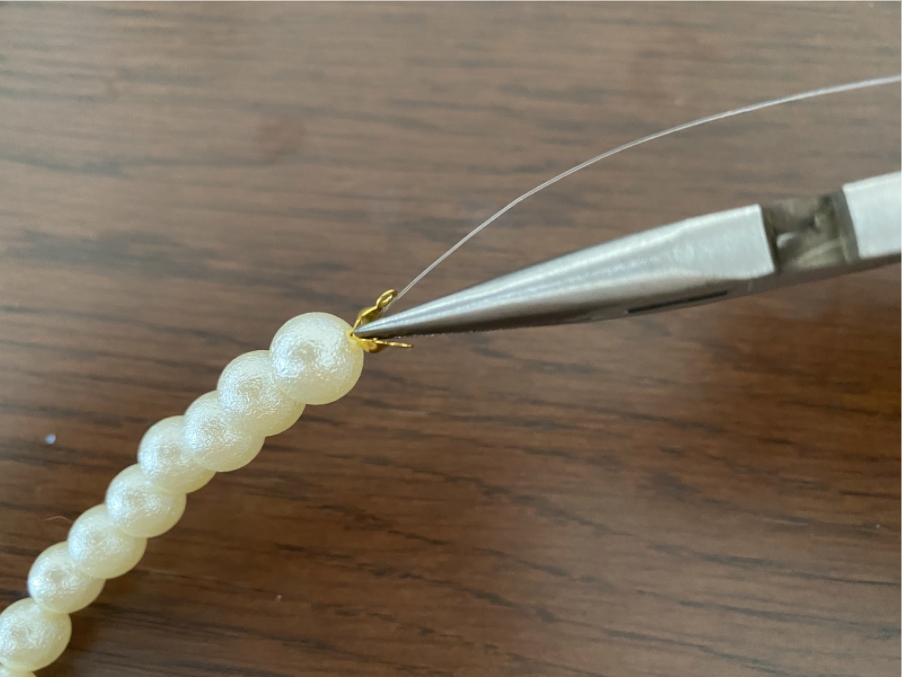 ハンドメイドネックレスの作り方7