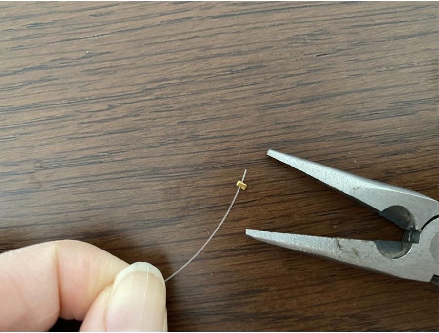 ハンドメイドネックレスの作り方2