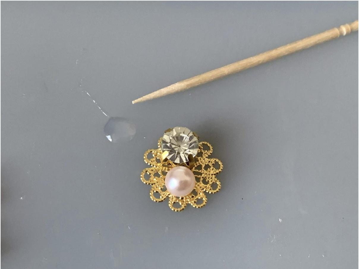 ジン・樹脂粘土で作る花の作り方・レシピ