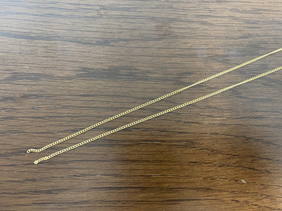 ロングパールネックレスの材料・パーツ
