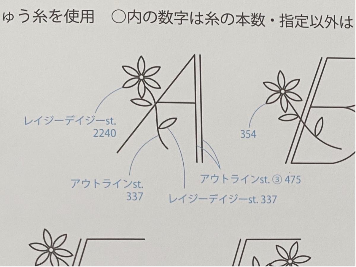 フレンチノットステッチ(2回巻き)の縫い方・刺し方4