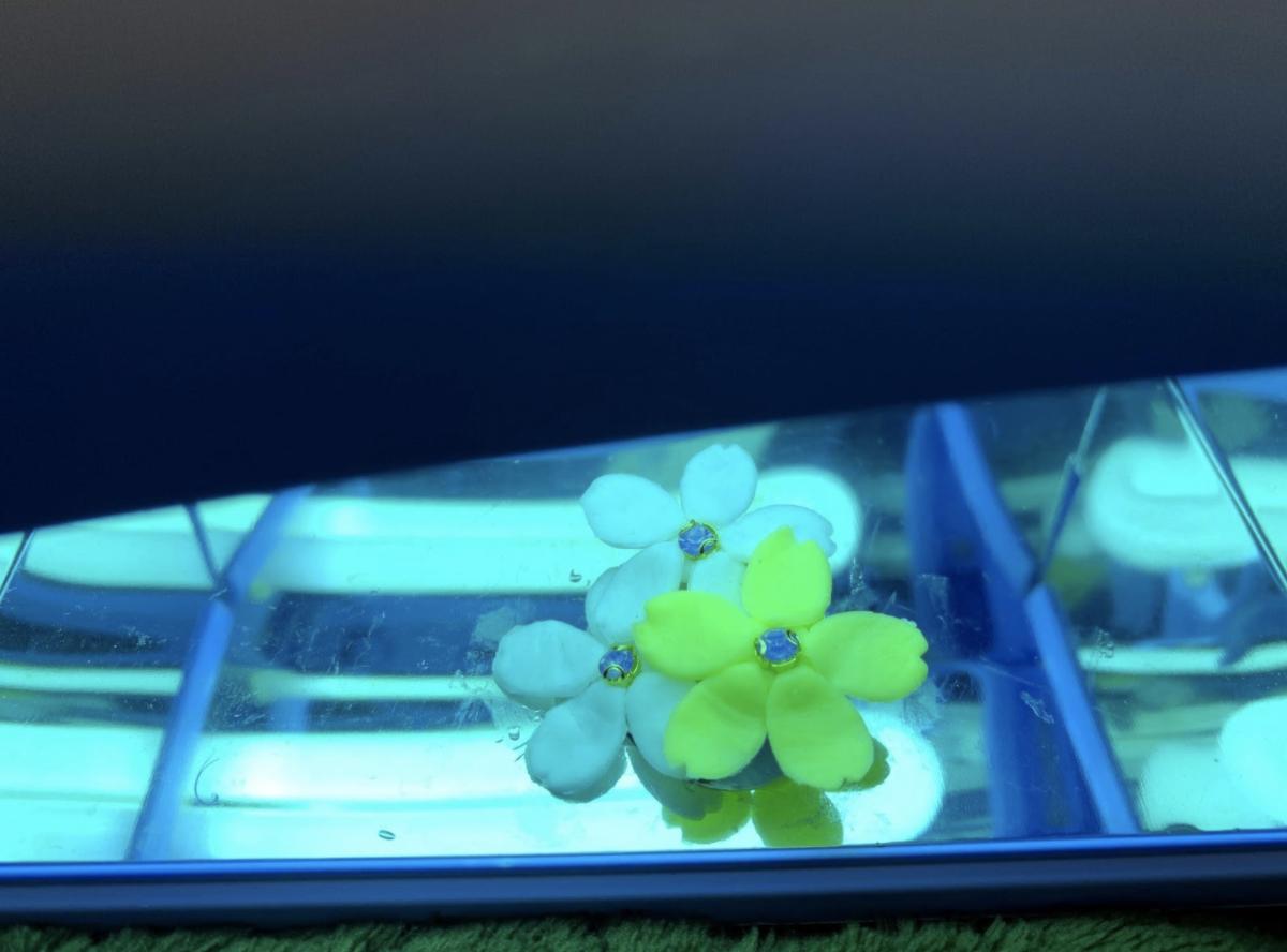 樹脂粘土で作る花モチーフの作り方・レシピ