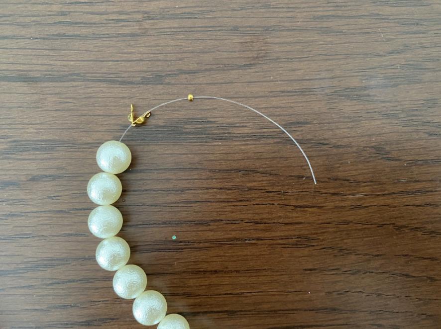 ハンドメイドネックレスの作り方6