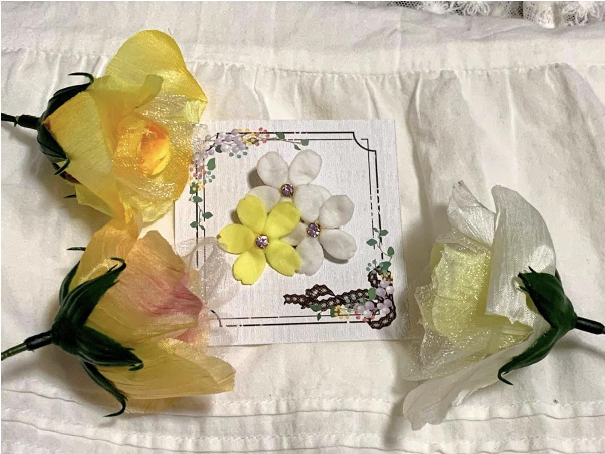 ハンドメイドブローチの作り方・レシピ