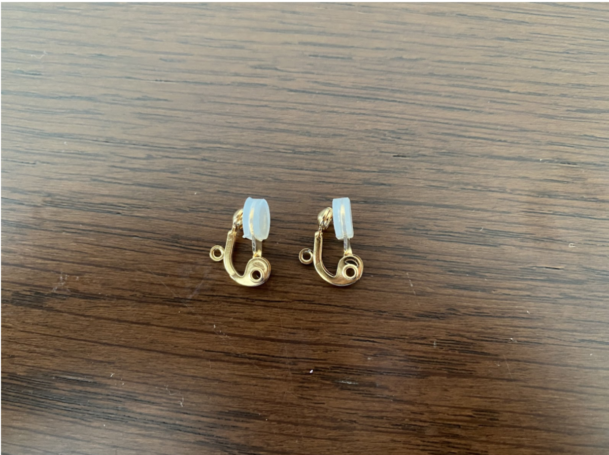 ハンドメイドイヤリングに使用する金具の種類2