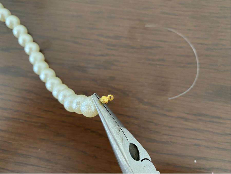 ハンドメイドネックレスの作り方8