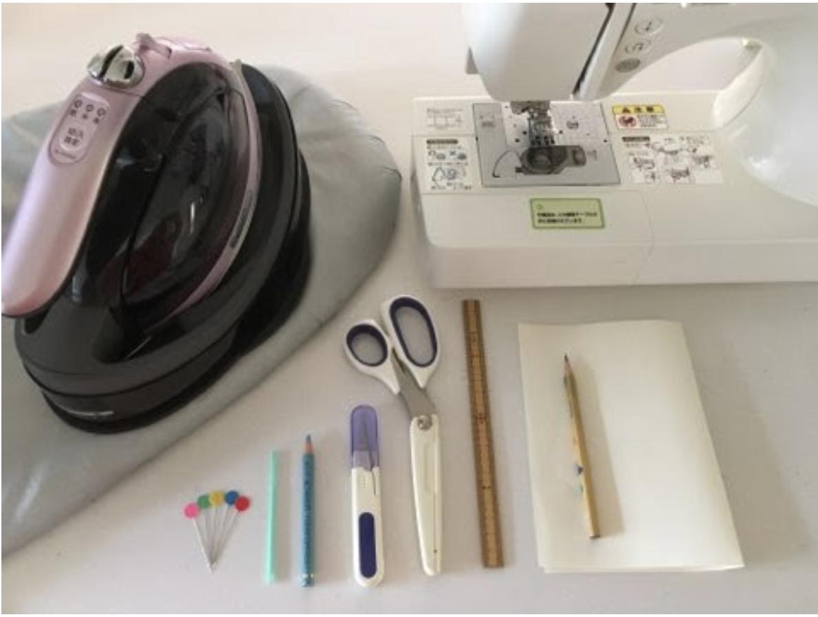 ハンドメイド子供用立体マスク作りで準備する道具や揃えるもの