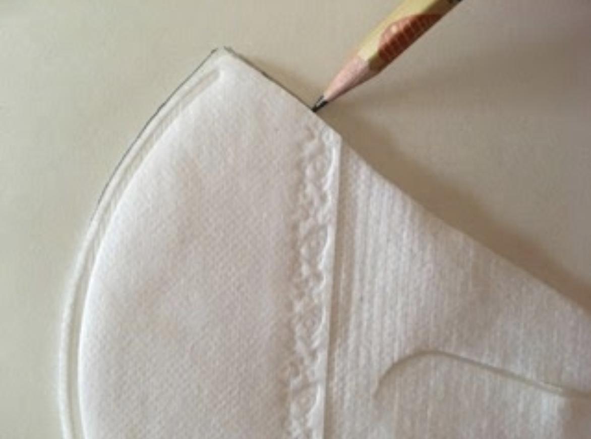 手作り子供用立体マス2クの作り方・縫い方