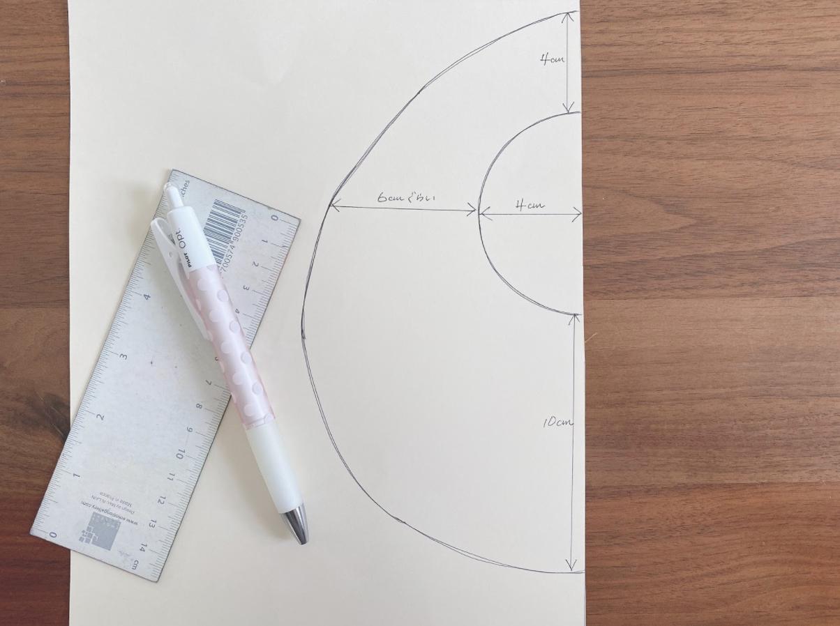 簡単に手作りスタイの型紙を作る方法