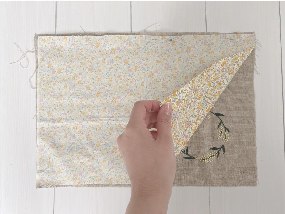 かわいい手作り巾着ポーチの簡単な作り方