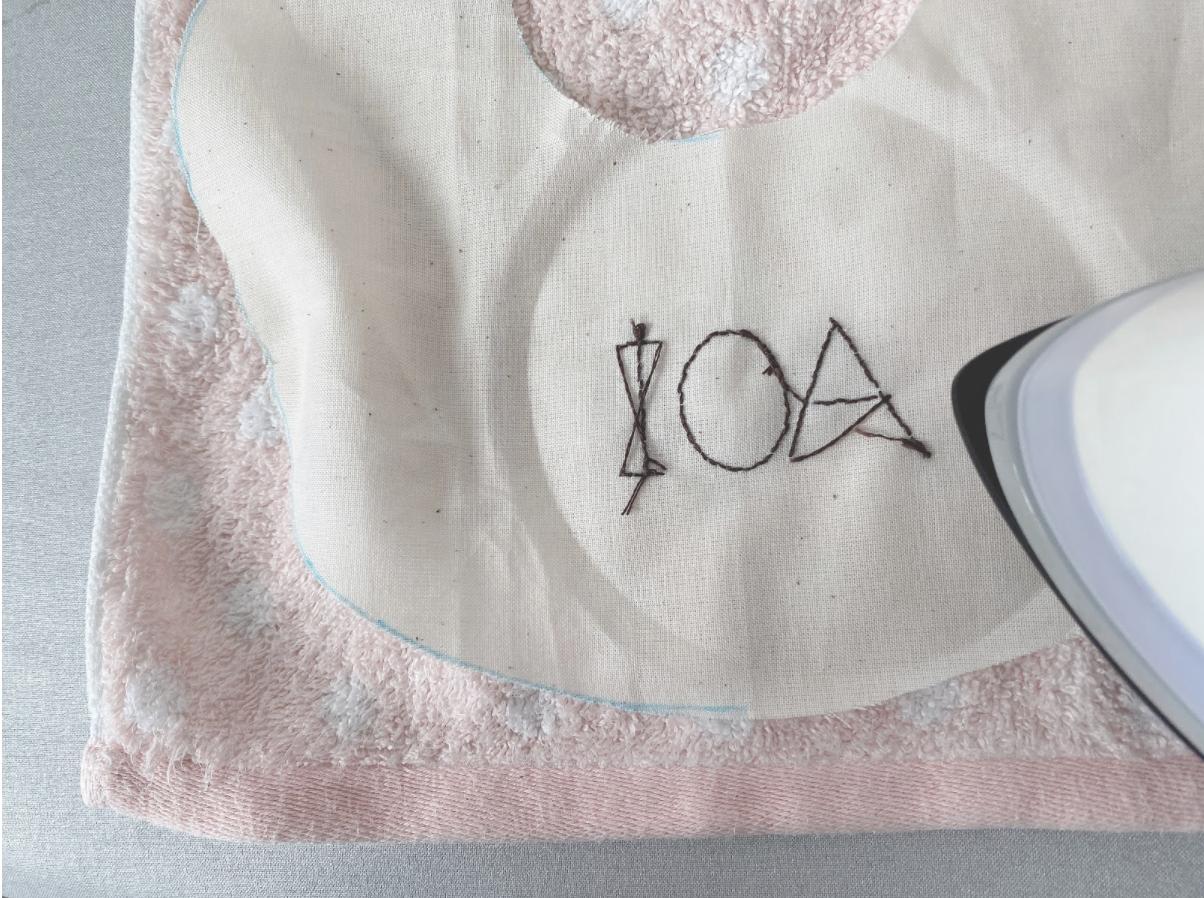 イニシャル刺繍や名前刺繍の縫い方・刺し方