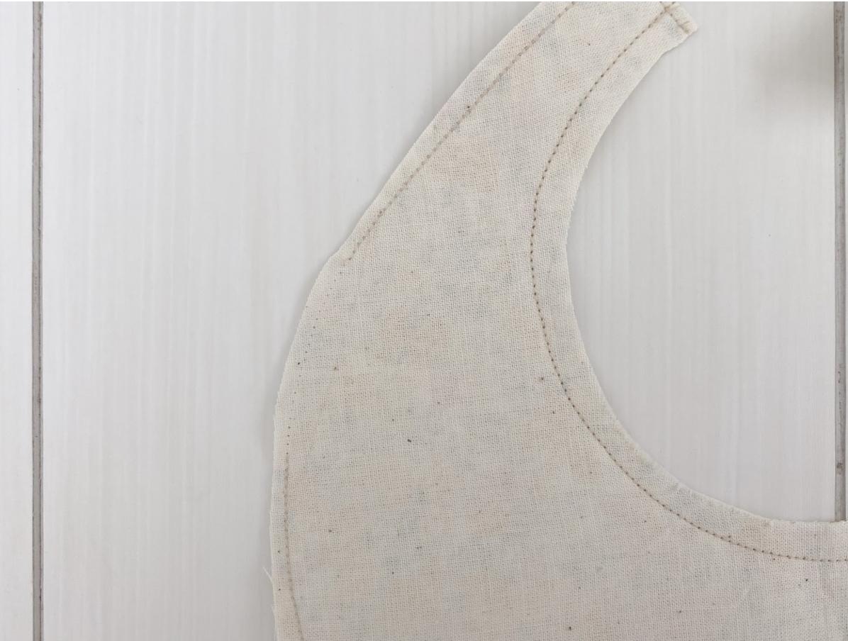 簡単/手縫いでできる手作りスタイの作り方