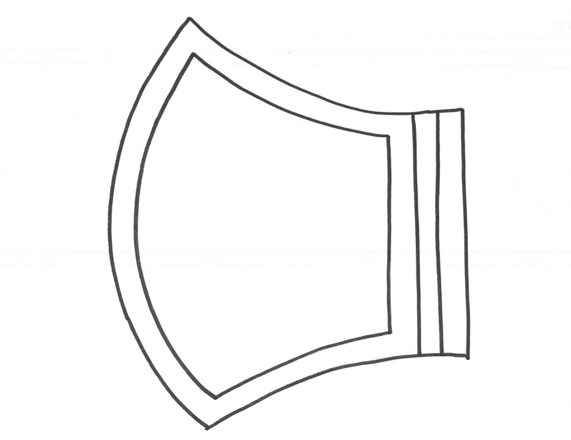 簡単でおしゃれな立体マスクの作り方