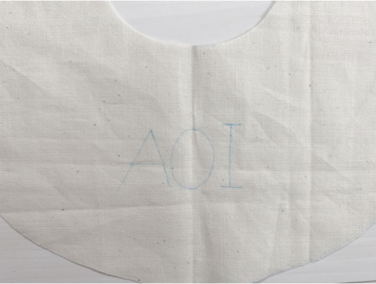 おうち時間で手作りスタイに刺繍するための下準備