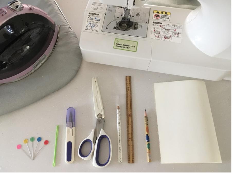 ミシンでハンドメイドする場合/必要な手芸道具や用意するもの一覧