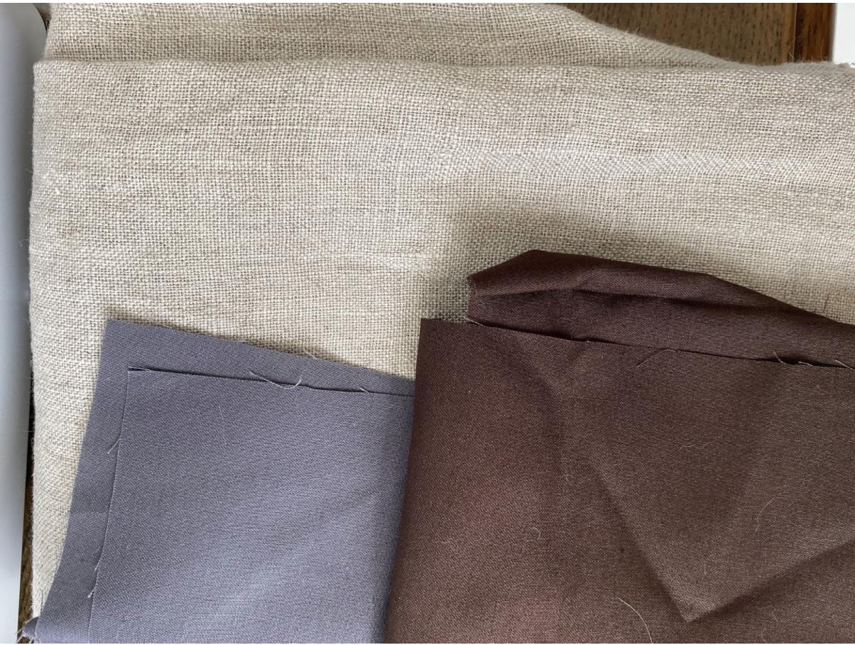 ミシンがなくても手縫いで出来るクッションカバー作りに必要な材料
