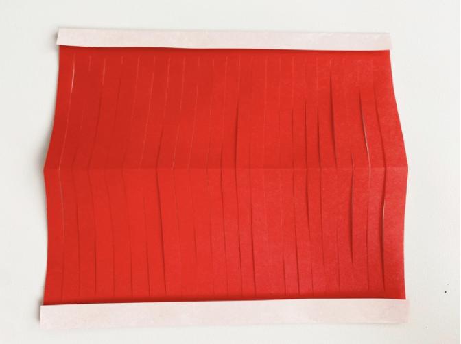 七夕祭りの飾りが折り紙とハサミで作れる簡単な提灯の作り方