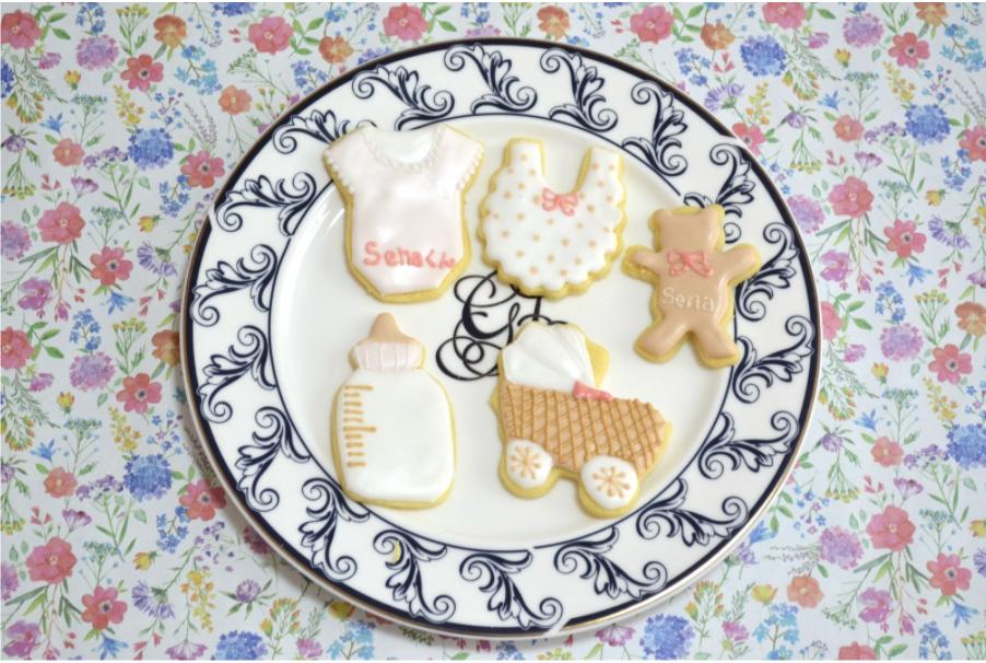 出産祝い・内祝いにおすすめの「スタイアイシングクッキー」の作り方・レシピを解説