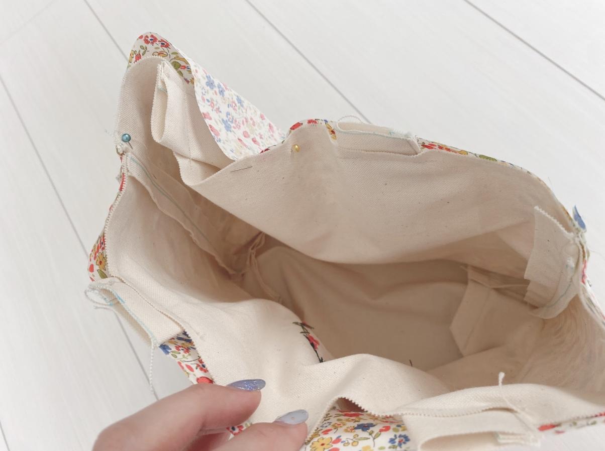 ハンドメイド帆布のトートバッグの作り方