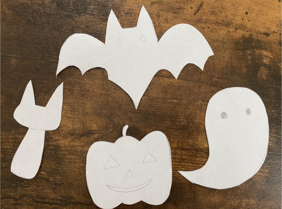 子供と作れるハロウィンのフェルトガーランドの作り方