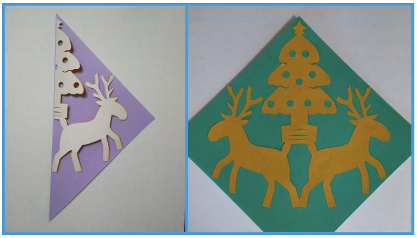 クリスマスの飾り付けにおすすめ!切り紙ガーランドのレシピ・作り方