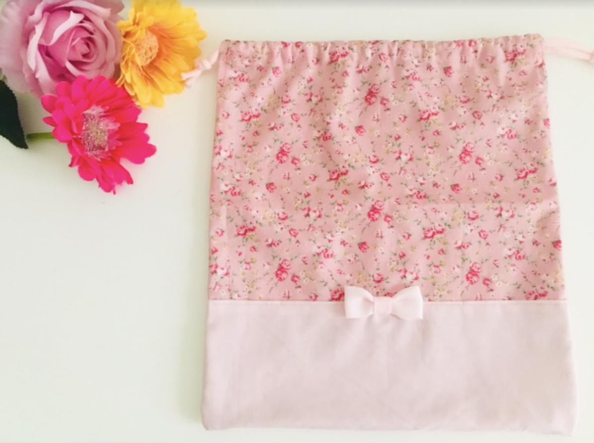 巾着袋タイプ体操服袋をハンドメイドで作る時に必要な生地や材料を紹介