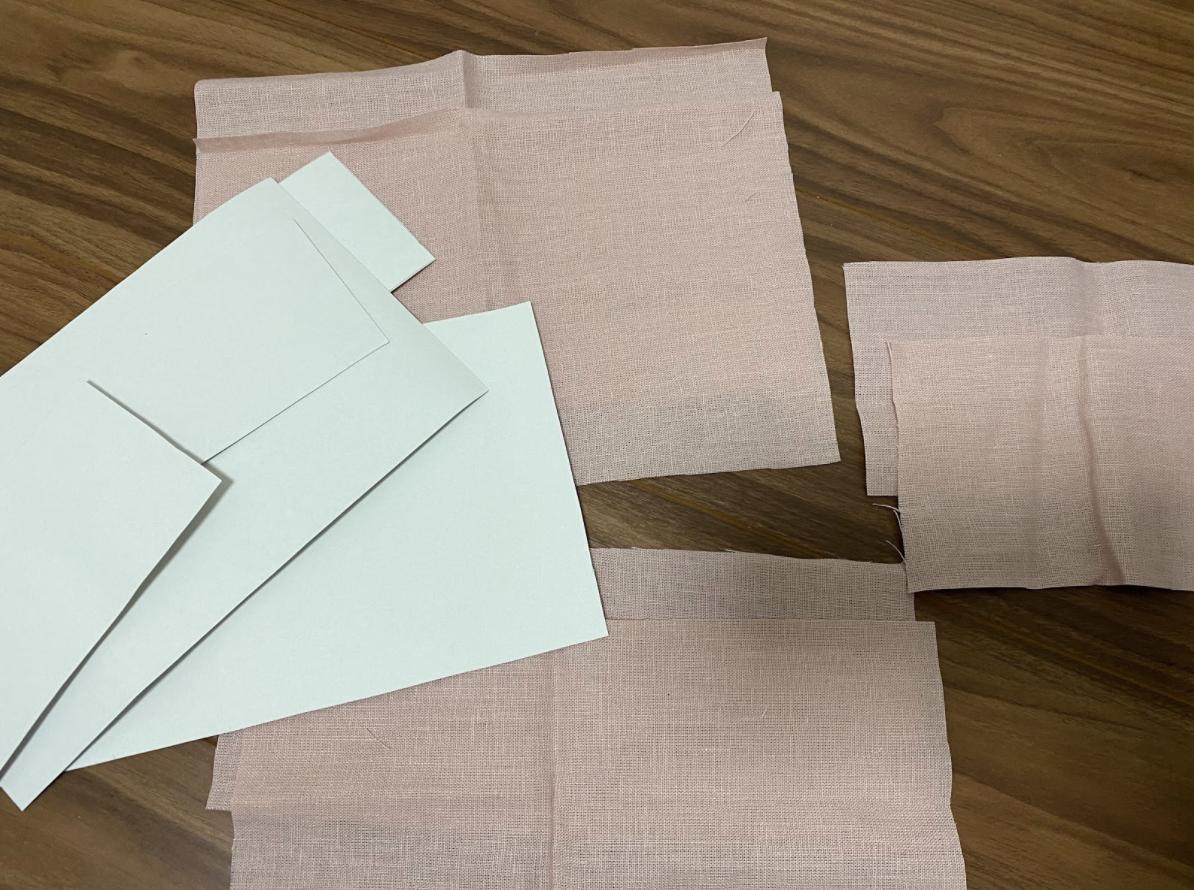 お部屋が華やかになるカルトナージュのマスクボックスを手作りする際に必要な材料や布・型紙の寸法はどのくらい?